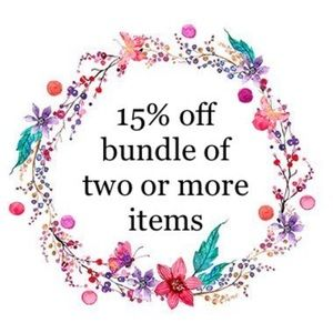 15% off 2+ items